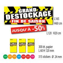 Kit de 2 affiches + 300 étiquettes + 315 stickers