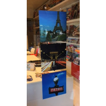 """Cartons """"PARIS"""" L34 H110 cm"""