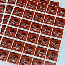 """10 planches de stickers prédécoupés """"Plaisir d' offrir"""""""