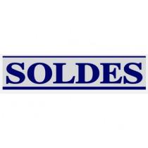 """Affiche """"SOLDES"""" L168 H40 cm"""