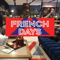 "Sticker ""FRENCH DAYS"" L80 H30cm"