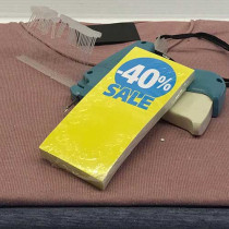 100 Hanger Tickets 170g L60 H140 mm SALE 40%