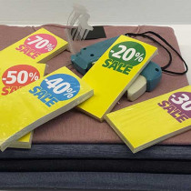 500 Hanger Tickets 170g L60 H140 mm SALE %