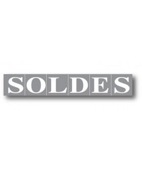 """Affiche """"SOLDES"""" L165 H28 cm"""