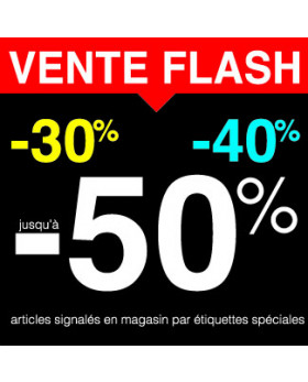 "Sticker pour table IKEA Lack ""VENTE FLASH"" L55 H55 cm"