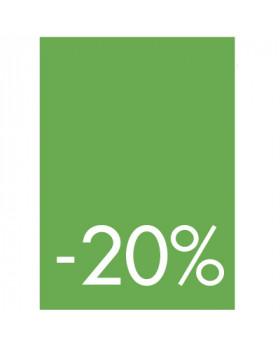 Pochettes de 5 cartons A4 20%
