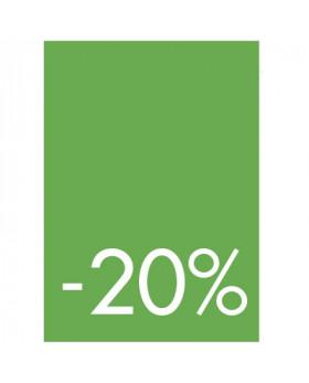 Pochettes de 5 cartons A5 20%