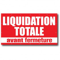 Bâche LIQUIDATION TOTALE 18 oeillets L300 H 165 cm