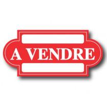 "Carton ""A VENDRE"" L47 H22 cm"