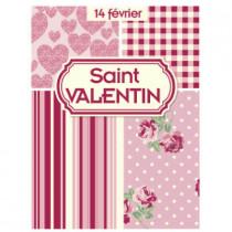 "Affiche ""St Valentin"" L60 H80 cm"