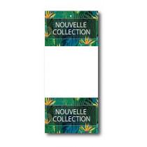 Paquet de 100 étiquettes papier  NOUVELLE COLLECTION L60 H140 mm