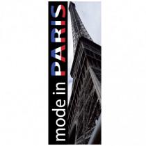 "Affiche ""MODE IN PARIS"" L35 H95 CM"