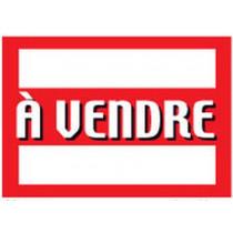 """Panneau """"À VENDRE """" L100 H70 cm"""