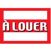 """Panneau  """"À LOUER"""" L100 H70 cm"""