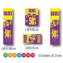 Kit de 4 affiches et 315 stickers
