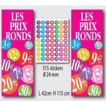 Kit de 2 affiches et 315 stickers