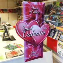 "Carton ""Saint Valentin"" L43 H65 cm"