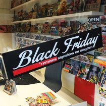 "Affiche ""BLACK FRIDAY"" L70 H15 cm"