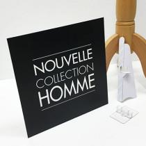 panneau  NOUVELLE COLLECTION HOMME  L33 H33cm