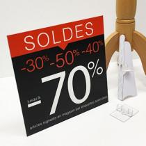 panneau PVC mat SOLDES L33 H33cm
