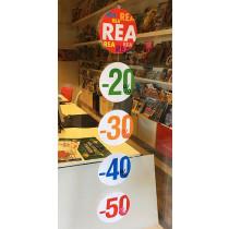 5 cardboards REA 20%30%40%50% L22 H110 cm