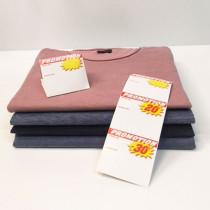 """Paquet de 200 étiquettes papier """"Promotion"""" L70 H85 mm"""