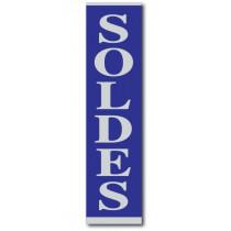 """Affiche """"SOLDES"""" L28 H168 cm"""