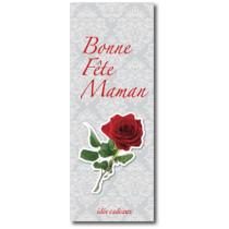 """Affiche """"BONNE FÊTE MAMAN"""" L42 H115 cm"""
