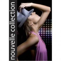 """Panneau """"NOUVELLE COLLECTION"""" femme 2 L35 H50 cm"""