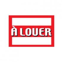 """Panneau """"À LOUER"""" L70 H50 cm"""