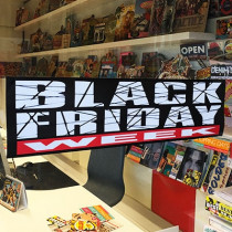 "Affiche ""BLACK FRIDAY WEEK"" L75 H20 cm"