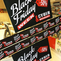 "KIT 6 affiches ""BLACK FRIDAY"""