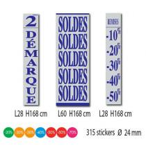 Kit de 3 affiches + 315 stickers